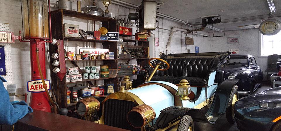 rookmelder in garage